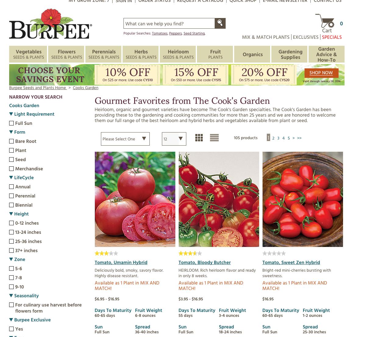 best seed catalogs
